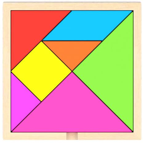 tangram cuadrado popular tangram puzzle pieces buy cheap tangram puzzle