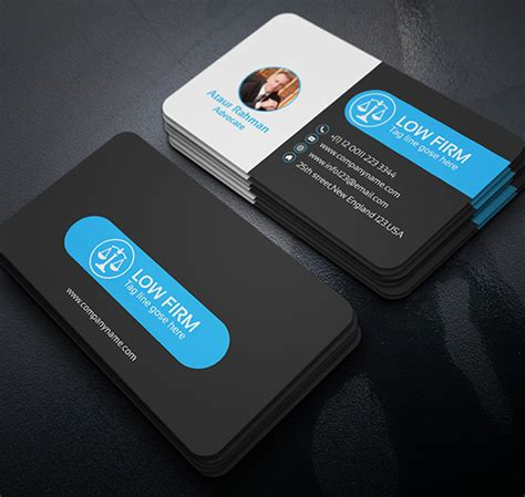 free attorney business card template 35 free black business card psd templates designyep