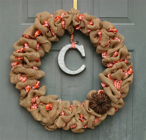 printable instructions to make a burlap wreath how to make a burlap wreath 30 diy tutorials guide patterns
