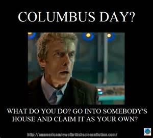 Columbus Meme - the monday meme columbus day arcadia pod