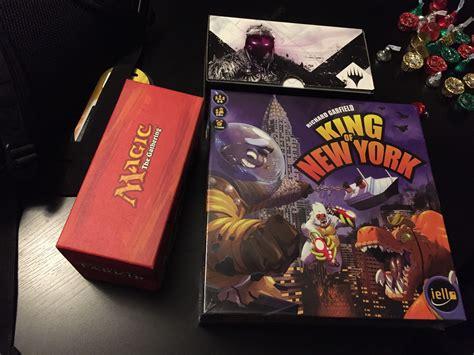 King Of New York Board Original Bnib king of new york fate reforged prerelease boards swords 35 boards swords board