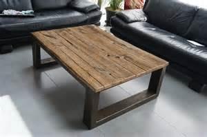 meuble industriel table basse ch 202 ne massif meubles et