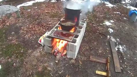 Making Maple Syrup On My Improvised Free Evaporator Pt II