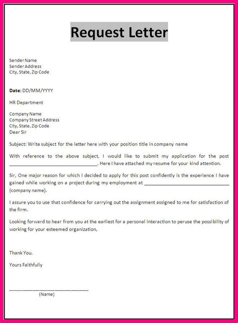 Petition Letter College 9 How To Write A Request Letter To Requesting For Something