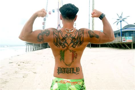 jersey shore cast tattoos mtv uk