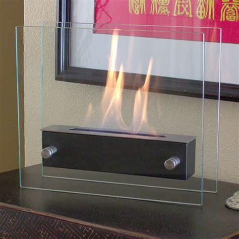 Nu Tabletop Fireplace nu irradio noir coffee table top portable decorative