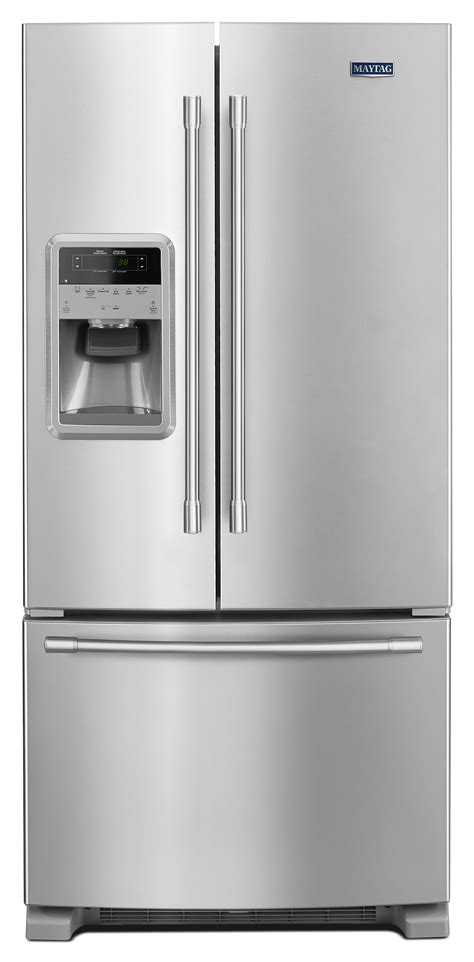door refrigerators 33 inches wide maytag mfi2269frz 33 inch wide door refrigerator