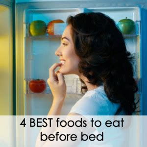 best things to eat before bed the ultimate pre bed meal try this tonight kathy smith