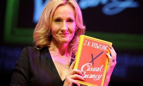 Jk Rowling The Casual Vacancy harry potter chris rea is not a