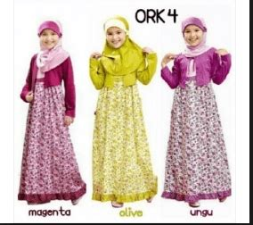 No Wa 081233176035 Gamis Anak Perempuan Gamis Anak Bahan Wolfis baju muslim anak archives ethica collection