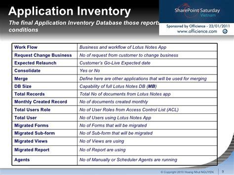 lotus notes app migration process v1 2