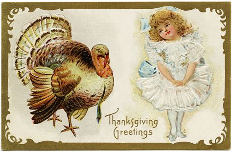 Thanksgiving Free Clip Vintage by Free Fashioned Thanksgiving Clipart 68