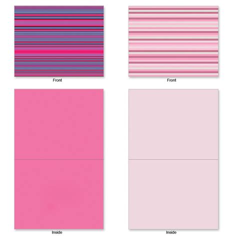 blank cards and envelopes for card m2034 true stripes 10 assorted blank note cards w