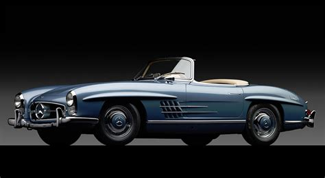 1960 mercedes 300 sl roadster thecoolist the