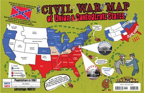 map us during civil war border states best photos of civil war confederate states confederate
