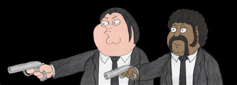 Pulp fiction family guy online