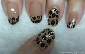 real asian beauty leopard print nail art tutorial
