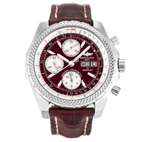 bentley burgundy burgundy breitling bentley gt a13362 replica watches store
