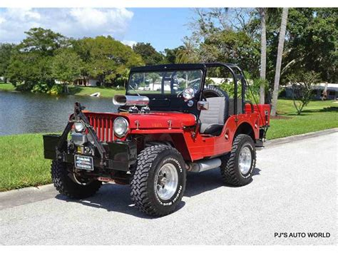 willys jeep 1953 willys jeep for sale classiccars com cc 1016775