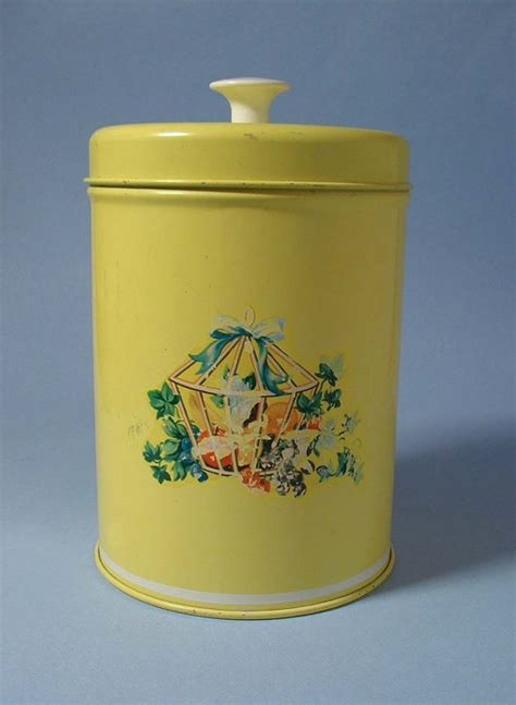 yellow kitchen canisters vintage 1940 s yellow kitchen canister sale price