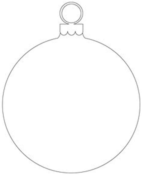ornaments christmas ornament and templates on pinterest