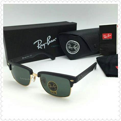 Kacamata Cewek Rayban Clubmaster Bulatoval jual sunglasses rayban clubmaster square rb4190 black