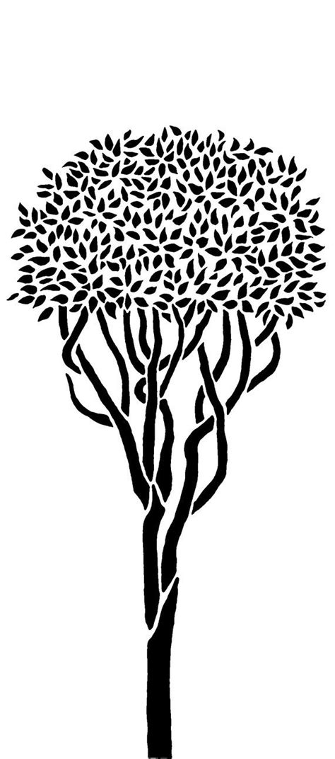Best 25 Tree Stencil Ideas On Pinterest Tree Outline Tree Stencil For Wall And Tree Murals Tree Stencil Template