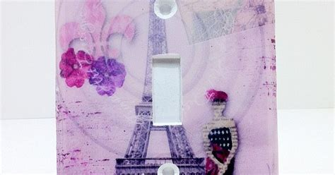 cute teenage girls room decor with eiffel tower theme cute light switch cover purple paris eiffel tower paris