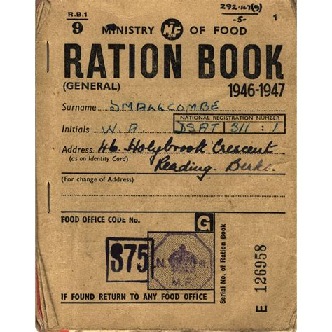 pictures of ration books plan of factory and surrounds 1857
