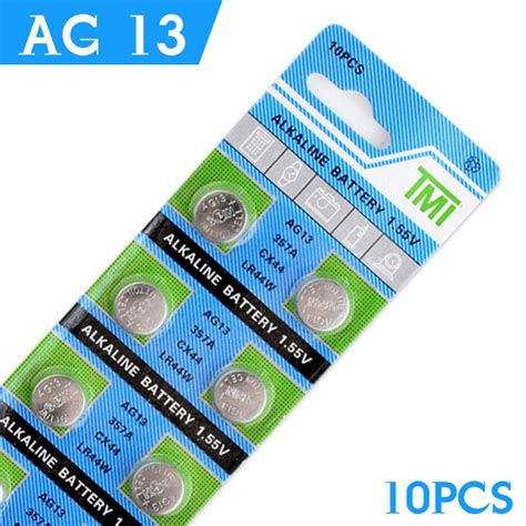 Sale Batere Ag13 cheap cell battery 10 pcs ag13 lr44 357a s76e g13
