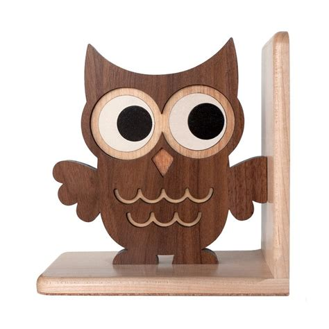 owl bookends wooden owl bookend heirloom wood bookend nursery