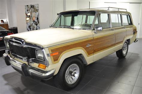 beige jeep grand 1984 jeep grand wagoneer 79568 beige suv v8 5 9l