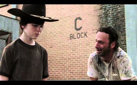 Walking Dead Meme Rick Crying - the walking dead s03e04 rick crying youtube