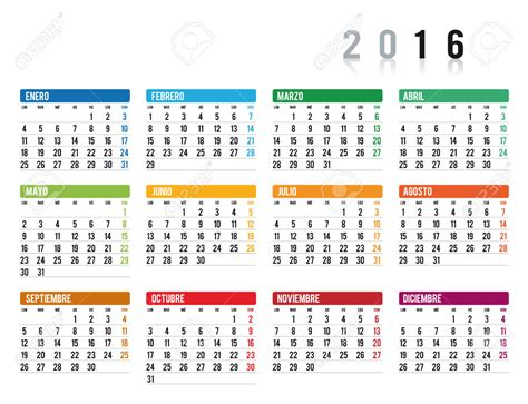 printable calendar 2016 spain october 2016 calendar in spanish 2017 printable calendar