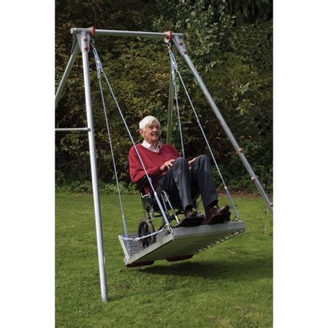 sensory swing frame wheelchair platform vestibular sensory toy