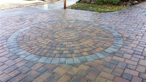 Circle Paver Patio Kits Healy Landscape Construction Inc