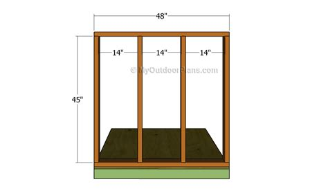Free Generator Shed Plans by Generator Shed Plans Free Outdoor Plans Diy Shed