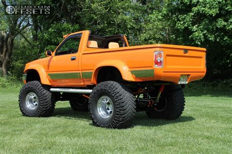 old toyota lifted 1989 toyota pickup mickey thompson classic ii custom