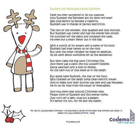 rudolph the nosed reindeer lyrics like a light bulb rudolph the renewable nosed reindeer energy efficiency