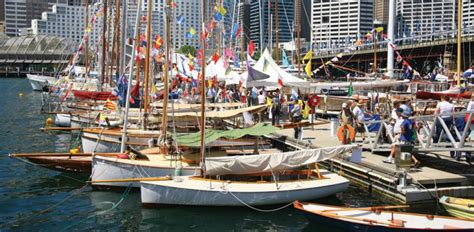 wooden boat festival darling harbour to host classic and wooden boat festival