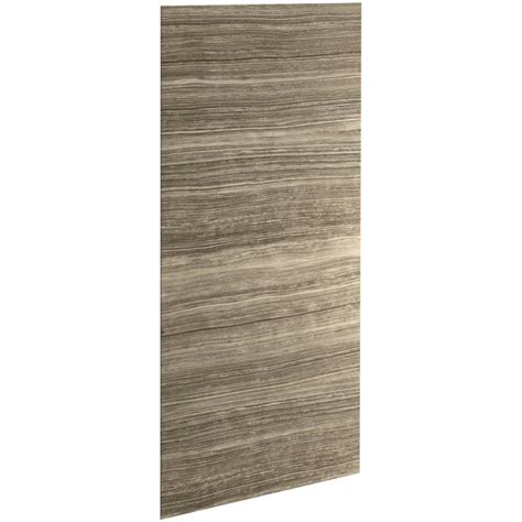 Lowes Shower Wall Panels shop kohler choreograph shower wall surround side and back panels common 0 25 in x 42 in