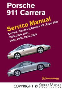 bentley publishing porsche parts 911 service manual type 996 by