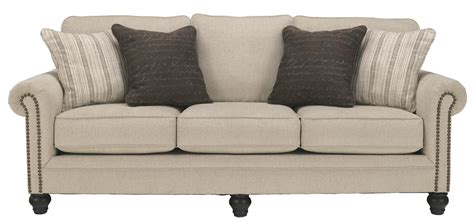 Sleeper Sofa Ashley by Signature Design By Ashley Milari Linen 1300039 Queen