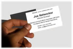 networking business cards networking card a business card for the unemployed