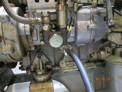 fuel flooding  fuel injection pump jinma farmpro
