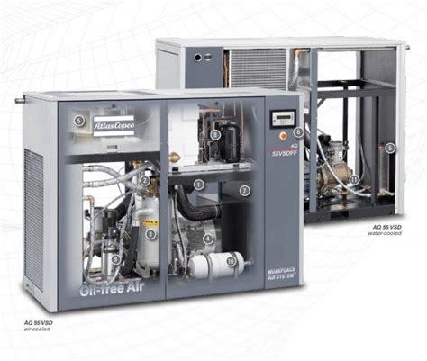 Jual Air Compressor Atlas Copco china atlas copco water injected air compressor compressor air compressor aq30 aq37