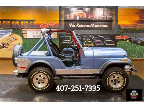 old jeep wrangler 1980 1980 jeep wrangler for sale on classiccars com