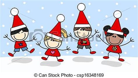 imagenes gratis vacaciones navidad navidad feliz alegre vacaciones ilustraci 243 n de archivo