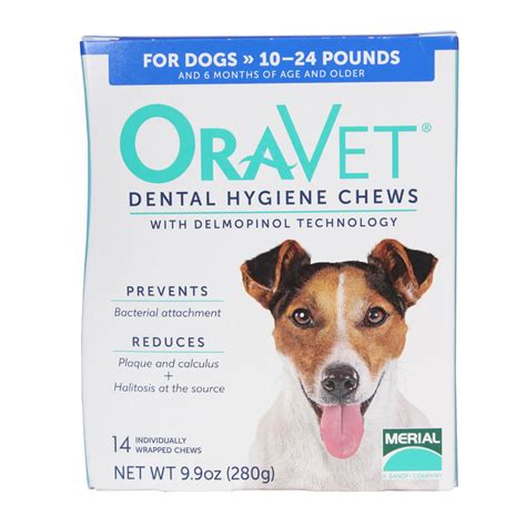 dental chews for dogs oravet dental chews for dogs 10 24 lbs 14 ct
