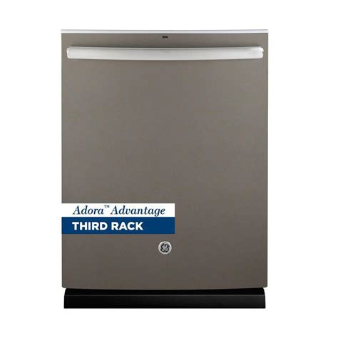 ge adora ge adora 24 in top dishwasher in slate with